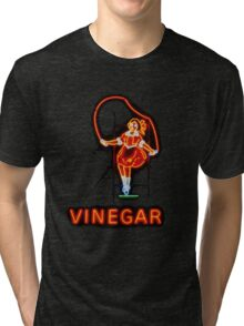 Skipping Girl Tri-blend T-Shirt