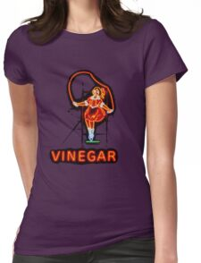 Skipping Girl Womens Fitted T-Shirt