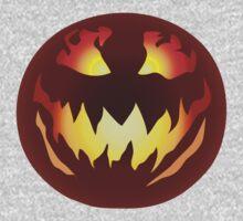 Scary Jack O' Lantern One Piece - Long Sleeve