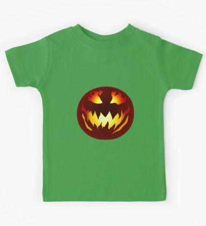 Scary Jack O' Lantern Kids Tee