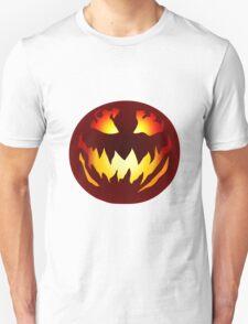 Scary Jack O' Lantern Unisex T-Shirt