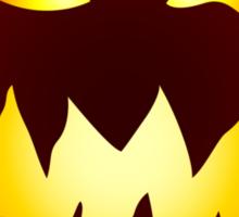 Scary Jack O' Lantern Sticker