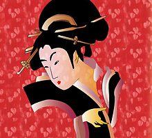 Geisha by Celine Cahill