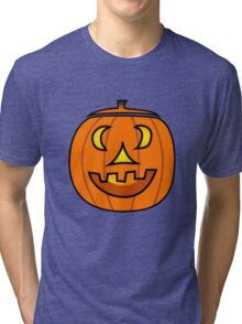 Jack O' Lantern Tri-blend T-Shirt
