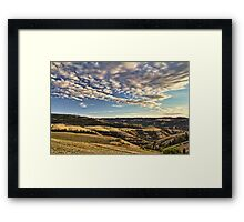 The hills of Lenore Framed Print