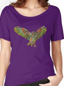 Owl painting - 2015 Women's Relaxed Fit T-Shirt