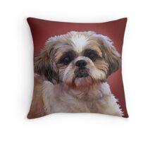 Shih Tzu Dog Throw Pillow