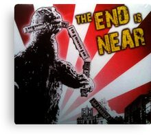 The End is Near Canvas Print