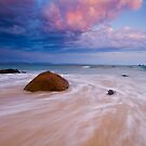 A New Day - Wategos Beach, Byron Bay by James McGregor