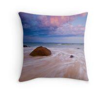 A New Day - Wategos Beach, Byron Bay Throw Pillow