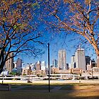 Southbank Parklands view to the city by Jaxybelle