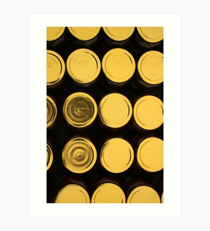 Jar Lids Art Print