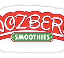 Snozberry Smoothies Sticker
