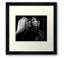 Sinuation Framed Print