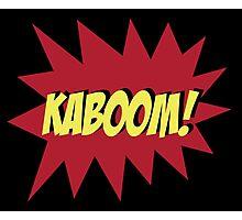 KABOOM Photographic Print