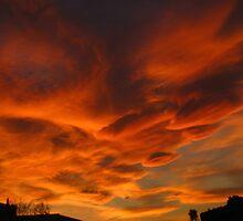 Menacing Fire on Sunset by sstarlightss