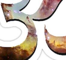 Galaxy Om Sticker