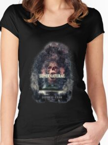 Supernatural Darkness Rising Women's Fitted Scoop T-Shirt