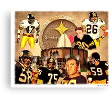 Pittsburgh Steelers Hall of Fame Defensive Legends Canvas Print