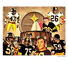 Pittsburgh Steelers Hall of Fame Defensive Legends Photographic Print