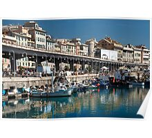 Old Port Genoa Poster