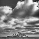 St Michael's Mount in Infrared by Paul Richards