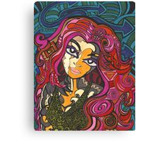 Red Haired Girl Canvas Print