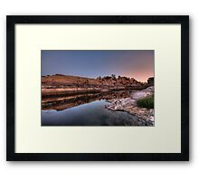 Long and Lean Framed Print
