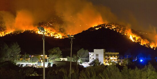 Ibiza Burning by Tom Gomez