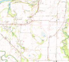 USGS Topo Map Oregon Riverside 281280 1969 24000 Sticker