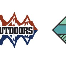 Gonzaga Outdoors and Marian Hall Sticker