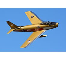 F86 Sabre Jet Photographic Print