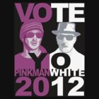 Breaking Bad shirt VOTE YO Pinkman White 2012 by BrBa