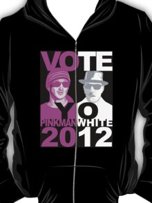 Breaking Bad shirt VOTE YO Pinkman White 2012 T-Shirt