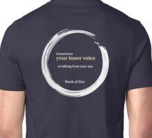 Zen Humor Quote About Contemplation Unisex T-Shirt