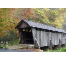 The Old Town Covered Bridge Photographic Print
