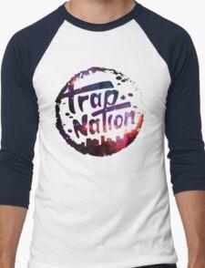 Trap Nation Galaxy Men's Baseball ¾ T-Shirt