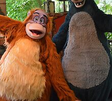 Jungle Book Baloo Jungle Book Villain King Louie Characters by notheothereye