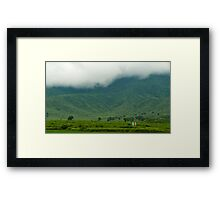 The Monsoon Mood of Nature Framed Print