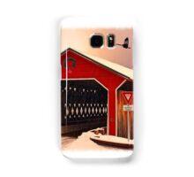 """Snow Covered Bridge"" Samsung Galaxy Case/Skin"