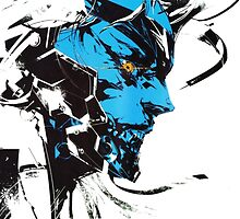 Metal Gear Rising: Revengeance, Raiden by remnanthelmet