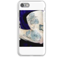 Harry Styles Watercolor Tattoo iPhone Case/Skin