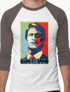 Believe Batman Men's Baseball ¾ T-Shirt