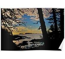 Ucluelet at Sunrise Poster