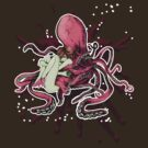 GIGANT OCTOPUS (RED) by YabuloStore919