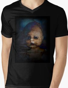 Zombie Doll Mens V-Neck T-Shirt