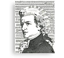 The Mozart  Effect Canvas Print