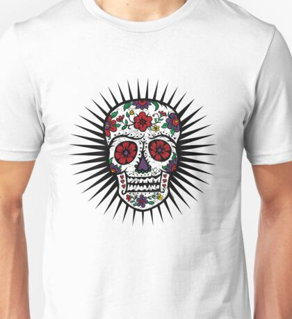 Sugar Skull two Unisex T-Shirt