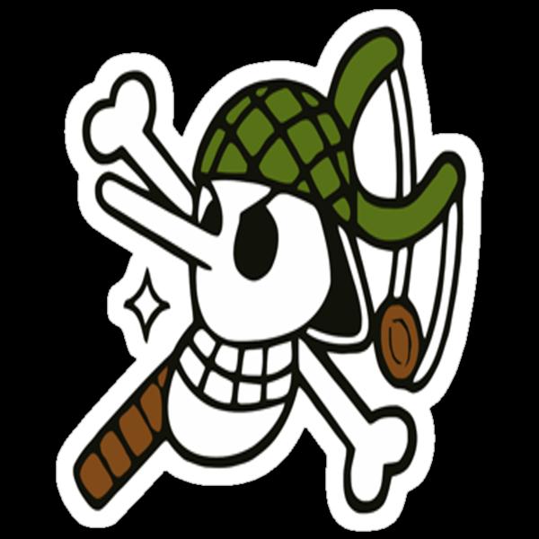 Usopp's Jolly Roger by takandre
