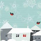 merry xmas by Anastasiia Kucherenko